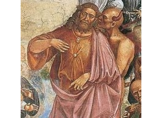 Affresco presente nel Duomo di Orvieto