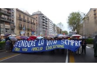 Mille persone in Marcia per la Vita