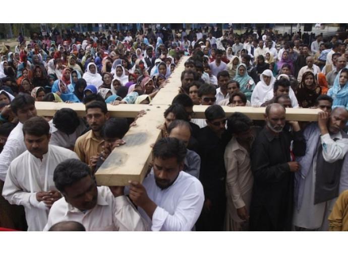 Venerdì santo in Pakistan