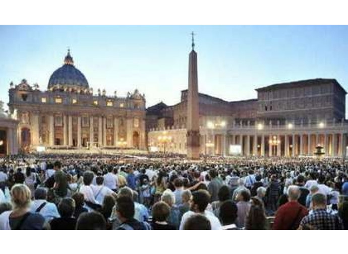 Veglia in San Pietro