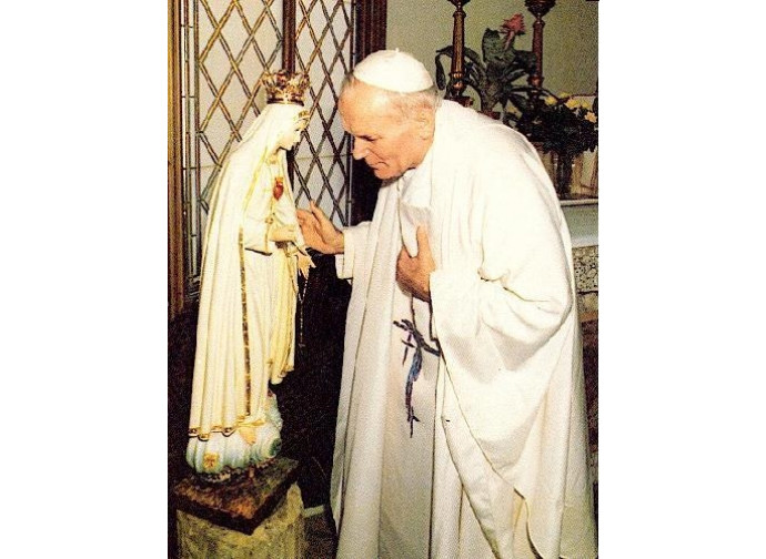 Giovanni Paolo II a Fatima