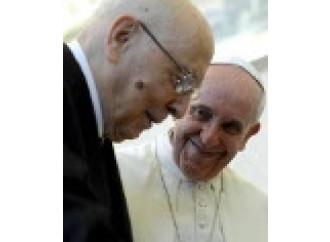 «Tutelare la famiglia» Lo chiede il Papa a Napolitano