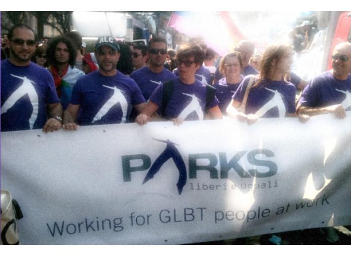 Parks al gay pride