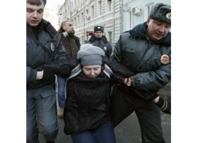 Manifestazioni in Russia