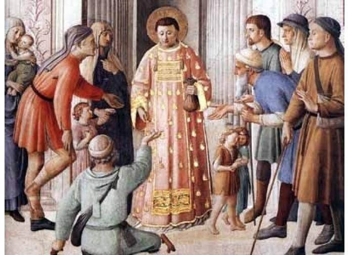 San Lorenzo diacono