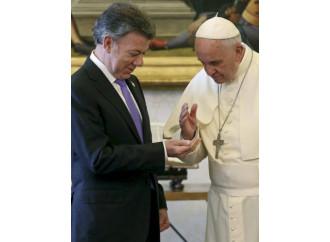"""La Colombia, Francesco e la pace """"imposta"""""""