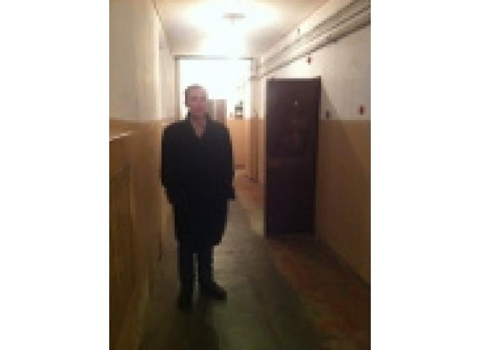 Tracevskis nell'ex carcere del Kgb a Vilnius