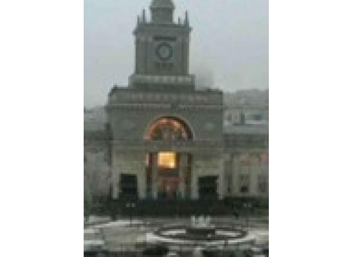 Volgograd, l'esplosione alla stazione
