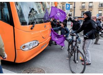 La faccia violenta della Spagna contro la libertà