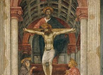 Trinità, la teologia in forma di affresco