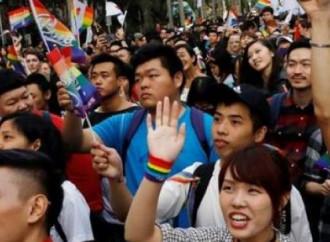 Taiwan, progetto di legge sulle unioni civili