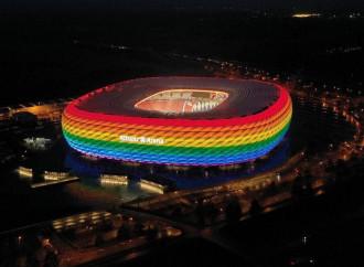Stadio arcobaleno per Germania-Ungheria