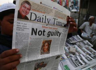 Asia Bibi attende in una località segreta di lasciare il Pakistan confortata dalla solidarietà internazionale