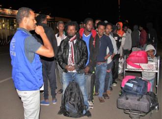 L'Oim il 24 settembre ha riportato in Etiopia 76 emigranti