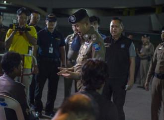 """È in corso in Thailandia una operazione per espellere gli stranieri irregolari di """"pelle scura"""""""