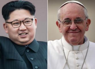 """Il dittatore della Corea del Nord Kim Jong-un pronto a dare """"un caldo benvenuto a Papa Francesco"""""""
