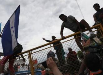 Fallito il 19 ottobre il tentativo di centinaia di emigranti di entrare in Messico dal Guatemala