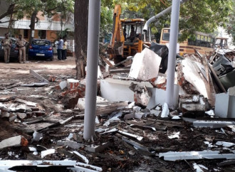 Nel Tamil Nadu demolita una chiesa per far posto a una strada