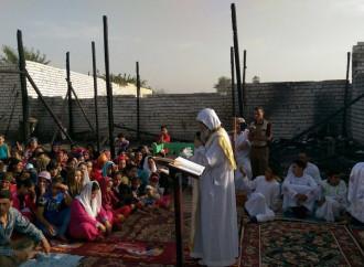 Estremisti islamici contro la legalizzazione della chiesa di un villaggio