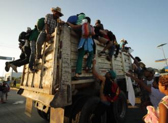 Due nuovi gruppi di emigranti diretti verso gli USA sono entrati in Guatemala e in Messico il 28 ottobre