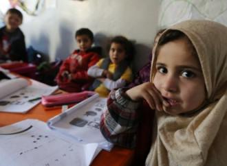 Oltre metà dei bambini rifugiati non va a scuola