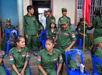 Nel Myanmar cento cristiani sono stati liberati dallo United Wa State Army