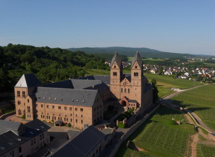 Abbazia di santa Ildegarda a Eibingen (Germania)
