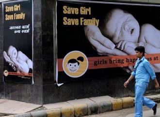Aborto selettivo, in India un distretto senza bambine