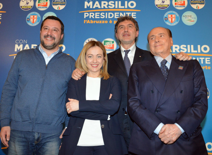 Il centrodestra per Marsilio, in Abruzzo
