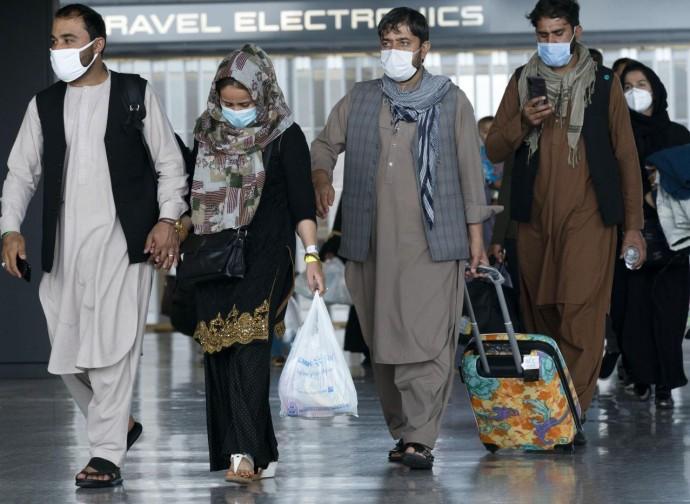 Afgani arrivati a Washington