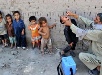 Riprendono in Afghanistan le vaccinazioni contro la poliomielite