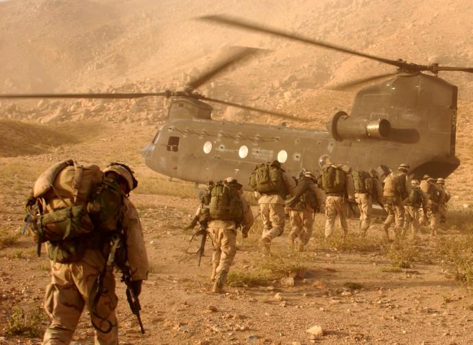 Truppe della 10ma divisione da Montagna Usa in Afghanistan