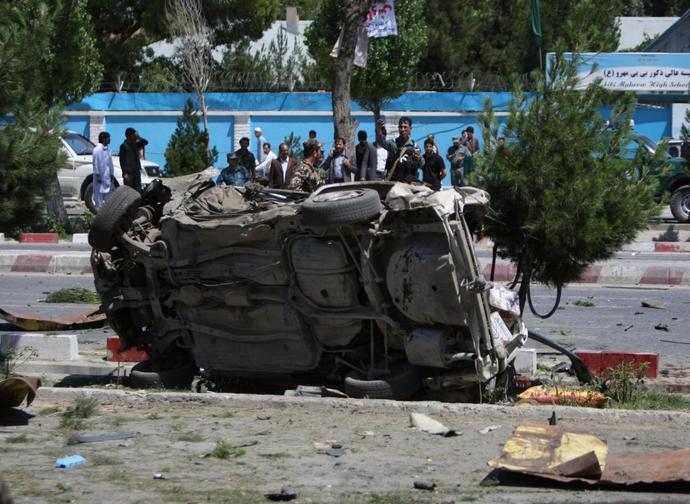 Afghanistan è in testa alla classifica per le vittime di attentati