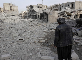 Sulle rovine di Afrin
