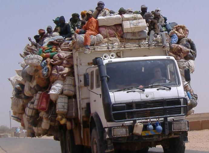 Emigranti in partenza da Agadez