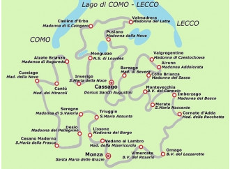 Da Monza alla Brianza, in cammino con Agostino