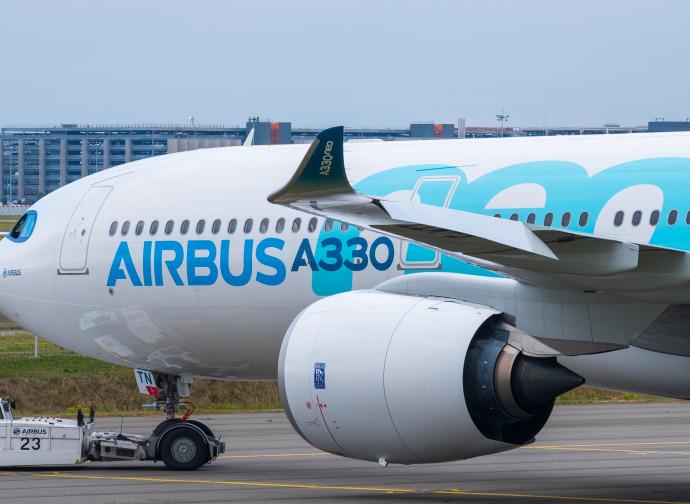 Un aereo Airbus A330
