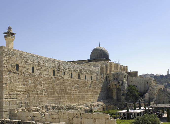 Gerusalemme, moschea di Al Aqsa
