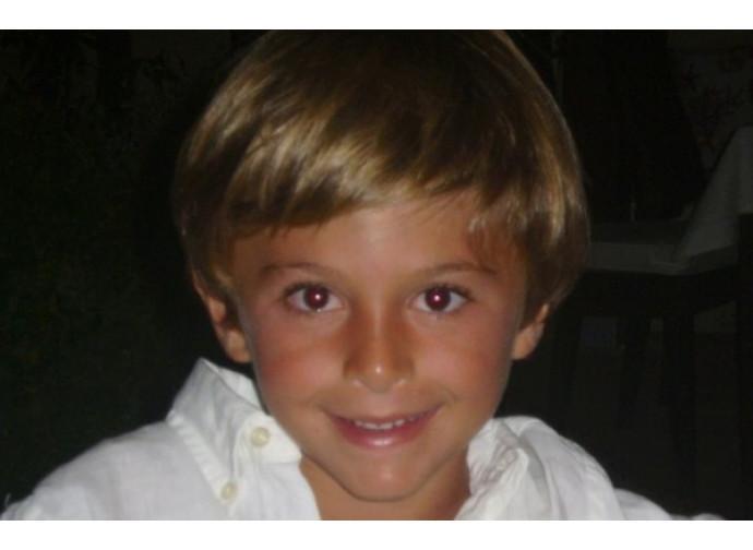 Il piccolo Alessandro Maria Zancan