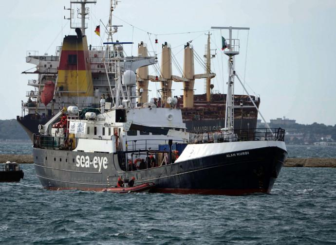 La nave Alan Kurdi della Ong Sea Eye