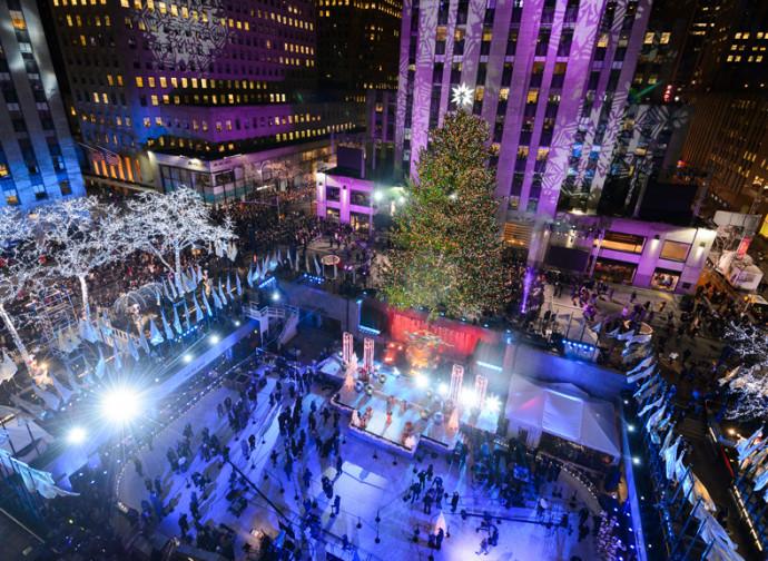 L'albero di Natale a New York