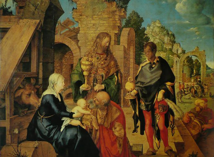 Albrecht Dürer, L'Adorazione dei Magi