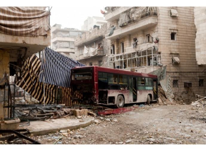 Aleppo in rovina