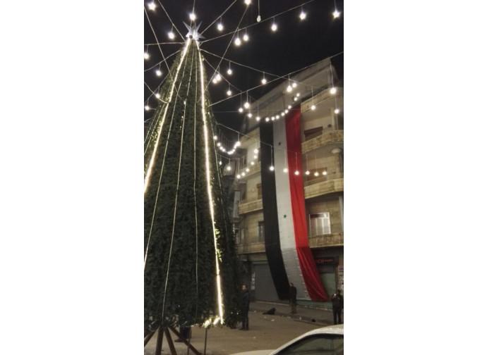 L'albero di Natale di Aleppo