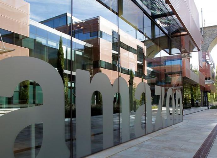 La sede di Amazon in Lussemburgo