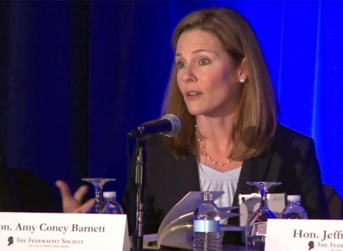 Il giudice Amy Barrett
