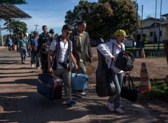 Roraima, continuano gli arrivi di profughi dal Venezuela