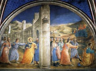 Beato Angelico: il martirio di Stefano voluto dal papa