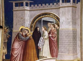 Gioacchino e Anna, il bacio di due sposi che si ritrovano