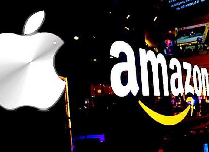 Apple e Amazon